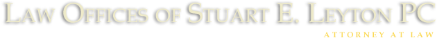 Law Offices of Stuart E. Leyton PC logo